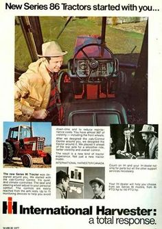 IH 86 Series Ad