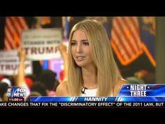 Sean Hannity Ivanka Trump FULL Interview - July 20, 2016 - Fox News