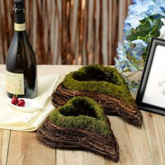 Introducing All-Natural Preserved Mood Moss Decoration Supplies and Craft Supplies at efavormart. Shop for Moss Planters, Moss Grass, Moss Balls, Moss Fillers and more! Planter Box Centerpiece, Planter Boxes, Moss Grass, Moss Decor, Spring Wedding Decorations, Christmas Decorations, Wooden Textures, Large Planters, Natural Shapes