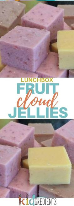 Cloud jellies, yummy, nutritious and so kidfriendly! Made with yoghurt, fruit and gelatin, they are the perfect treat for kids with no nasties! #kidsfood #yoghurt #cloudjellies #healthykidsfood