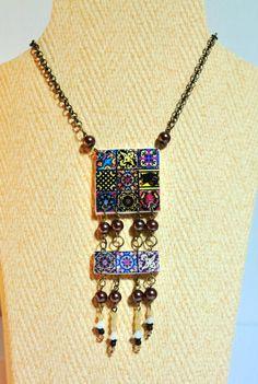 Conjunto de Collar e Pulsera con réplicas de por LasJoyitasDeMarie