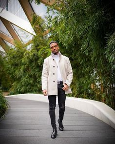 Style Inspiration by Find Your Style With Black Men, Chelsea Boots, Your Style, Black Clothes, Style Inspiration, Coat, Jackets, Instagram, Fashion