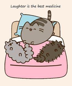 Gato Pusheen, Pusheen Love, Cute Animal Drawings, Kawaii Drawings, Pusheen Stormy, F2 Savannah Cat, Kawaii Doodles, Cute Friends, Cat Drawing