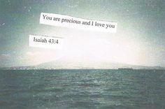 //4 Visto que você é precioso e honrado à minha vista, e porque eu o amo,
