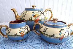 Three Piece Limoges Tea Set Little Tea Pot In 2019 Tea