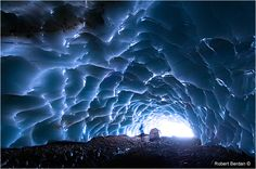 Ice Cave under Angle Glacier, Jasper National Park, Alberta, Canada Alberta Canada, Jasper National Park, National Parks, World Pictures, Nature Pictures, Album Photo, Places Of Interest, William Shakespeare, Canada Travel
