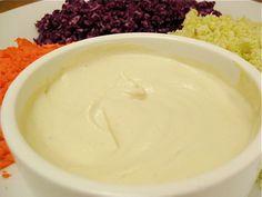 Raw vegan mayonnaise