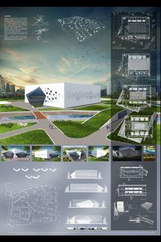 Concept Board Architecture, Maquette Architecture, Architecture Design, Plans Architecture, Architecture Presentation Board, Architecture Panel, Architecture Graphics, Planetarium Architecture, Pavillion Design