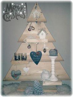 Homemade Christmas Tree #steigerhout