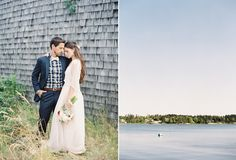 Natural East Coast Maine Wedding - by Jessica Lorren