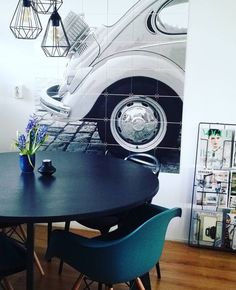 The IXXI enlargement of Renske. Get inspired at www.ixxidesign.com/inspiration #IXXI #ixxiyourworld #ixxidesign #home #interior #inspiration #blackandwhite #car #photography #livingroom