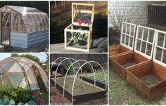 18 DIY Green House Projects Instructions Free Plan