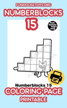 Have some fun with our collection of numberblocks printables. Find Printable Coloring Pages from Numberblocks here. Preschool Learning Activities, Preschool At Home, Toddler Activities, Fun Printables For Kids, Preschool Printables, Learning Numbers, Learning The Alphabet, Educational Crafts, Math For Kids