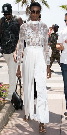 Maria Borges out in Cannes. #bestdressed