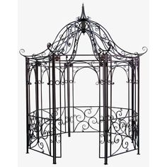 Design Toscano Amelie Gazebo-DISCONTINUED-FZ397 - The Home Depot
