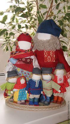 Купить Народные куклы в русской традиции - разноцветный, народные куклы, народная традиция, оберег для дома