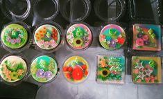 Flowers jelly arts