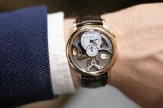 Romain Gauthier insight micro rotor red gold