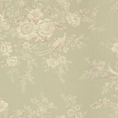 Wallpaper for small powder room.  Ralph Lauren - Vintage Dauphine