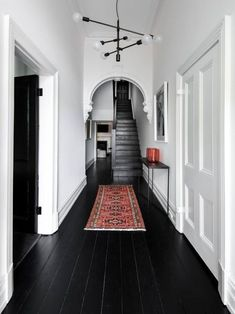 Dark halls and stairs can cause accidents - from Pinterest