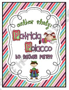 You have everything you need to have a successful author study unit on Patricia Polacco! As students explore Patricia Polacco books, they will be l. Student Teaching, Teaching Reading, Teaching Ideas, Patricia Polacco, Classroom Art Projects, Classroom Ideas, 3rd Grade Reading, Third Grade, Interactive Read Aloud