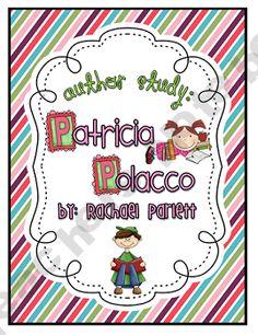 Patricia Polacco Author Study Unit product from Rachael-Parlett on TeachersNotebook.com