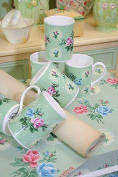 Vintage Home mugs.  I like this site!