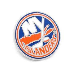 New York Islanders Lapel Pin, Men's, Orange