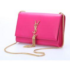 pinksizter:  Saint Laurent mini Monogramme Cross-body Shoulder Bag (clipped to polyvore.com)