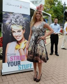 Looking for the best dressed at Woodbine's Most Fashionable Lady Contest!