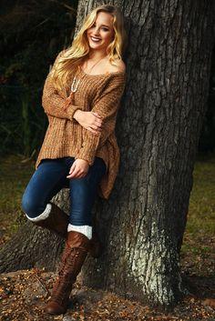 Take It Back Sweater: Brown/Multi #shophopes