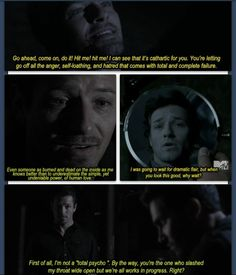 Peter Hale quotes, Teen Wolf. :D