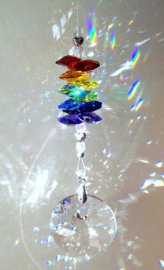"Sun Catcher - ""Radiant Rainbows"""