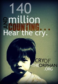 The Cry of the Orphan campaign exists to turn up the volume on the needs of orphans across the world. (Cry is a collaboration between Focus on the Family, Show Hope, and Hope for Orphans.)