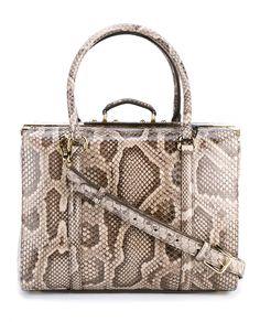 DOLCE & GABBANA Python Skin Box Bag. #dolcegabbana #bags #shoulder bags #hand bags #leather #lining #