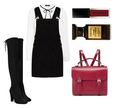 """Autumn day"" by michaelalove3 on Polyvore featuring Boohoo, The Cambridge Satchel Company, Smashbox and Tom Ford"