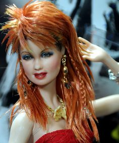 Barbie - Repaint by Noel Cruz. Looks like Cyndi!
