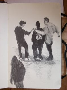 Moleskine 3 #049 graphite pencil drawing