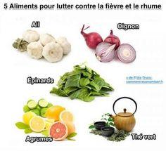 Découvrez les 5 aliments qui vous protégeront des rhumes, fièvres et grippes cet hiver. Et en plus, ils ne sont pas chers et sont super faciles à trouver !  Découvrez l'astuce ici : http://www.comment-economiser.fr/aliment-naturels-contre-fievre-rhume.html?utm_content=buffer17a43&utm_medium=social&utm_source=pinterest.com&utm_campaign=buffer