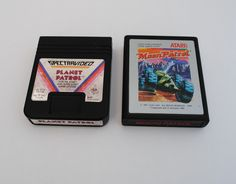 Atari Patrol - Moon Patrol and Planet Patrol Atari 2600 Game Cartridges