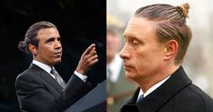 If politicians had man buns. Long hair, don't care. Dying!