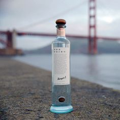 This Hangar One Vodka is Made from San Francisco Fog: Move over, potatoes. Hangar One's new bottle is full of moisture and magic.