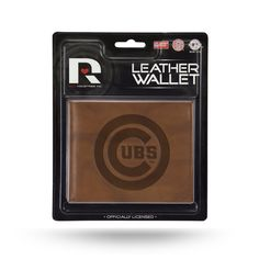 Chicago Cubs Leather Embossed Billfold