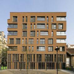 Logements, Santé, maison relais, appartements hospitaliers, centre d'accueil de jour, commerces, EHPAD - Boucicaut | Brenac & Gonzalez
