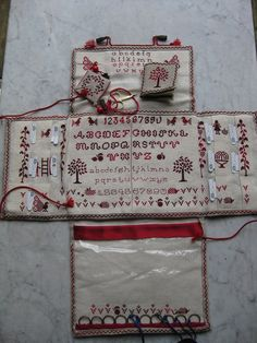 If you embroider, you MUST at least click on this link and see this fantastic project clutch ---I so want to make one of these! It's a true heirloom worthy work of art!