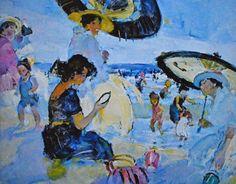 Martha Walter (American Impressionist, 1875–1976) - Japanese Parasol