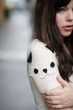 panda shoulder #style #fashion #streetstyle