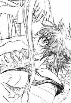 Saori and Seiya