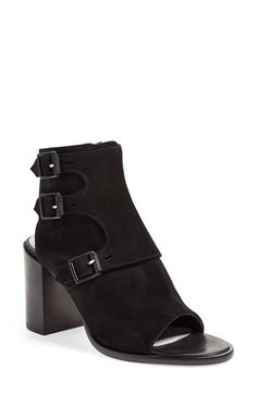 rag & bone 'Marta' Open Toe Bootie (Women) available at #Nordstrom