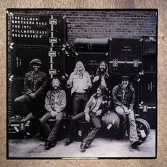 The ALLMAN BROTHERS BAND At Fillmore East Coaster Front Cover Ceramic Tile